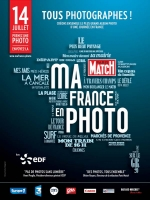 "CFPF avec Paris Match ""Creer le plus grand Album"" 14 Juillet 2014"
