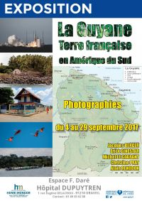Exposition photos Guyane à Draveil